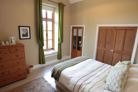 A bedroom in self contained annex - Monmouthshire