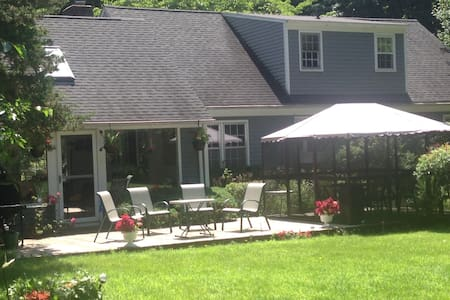 Very private/20x40in ground pool - New Milford