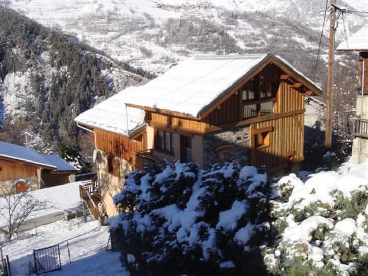 Chalet 5-6 people-3 Vallées Ski area