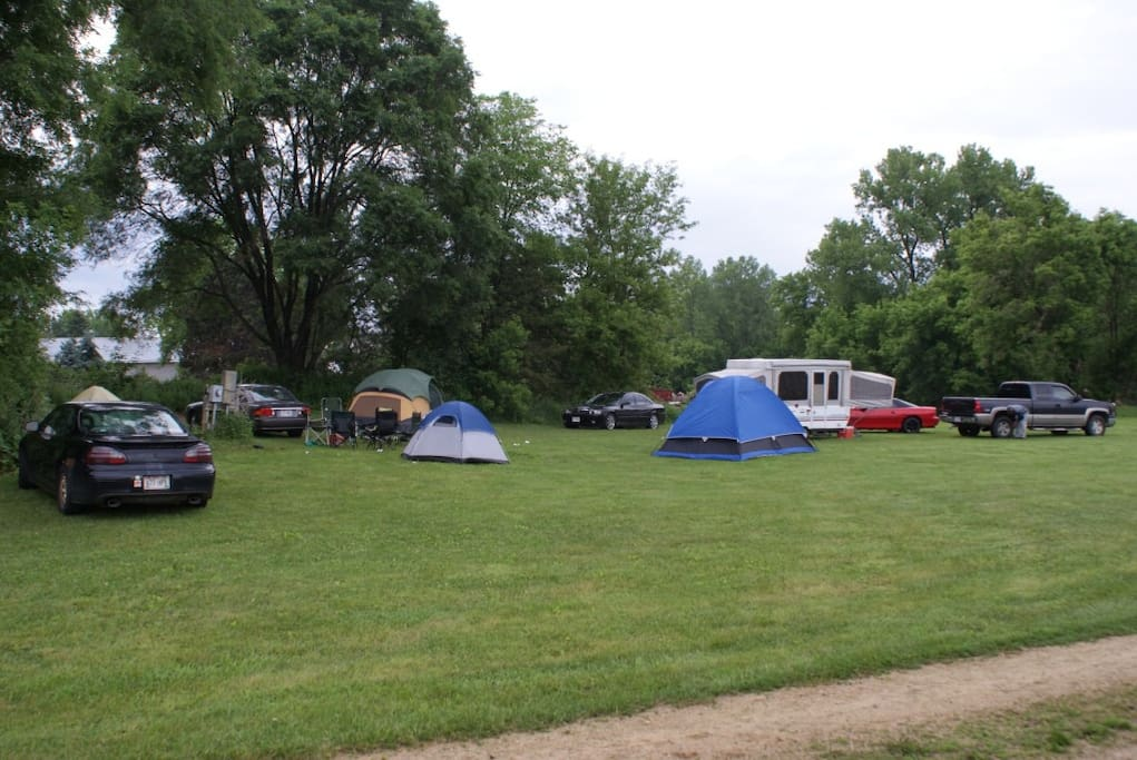 CAMPGROUND ON SITE