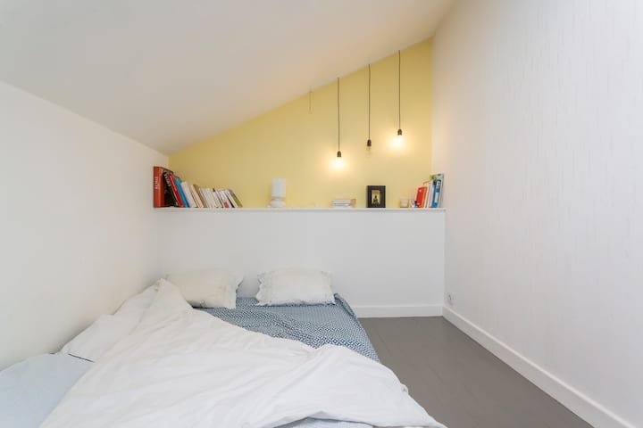 Cosy flat in Croix-Rousse with terrace & pkg space