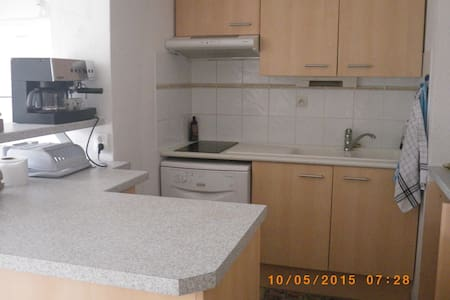 Appartement T3 au Cap d'Agde RDC
