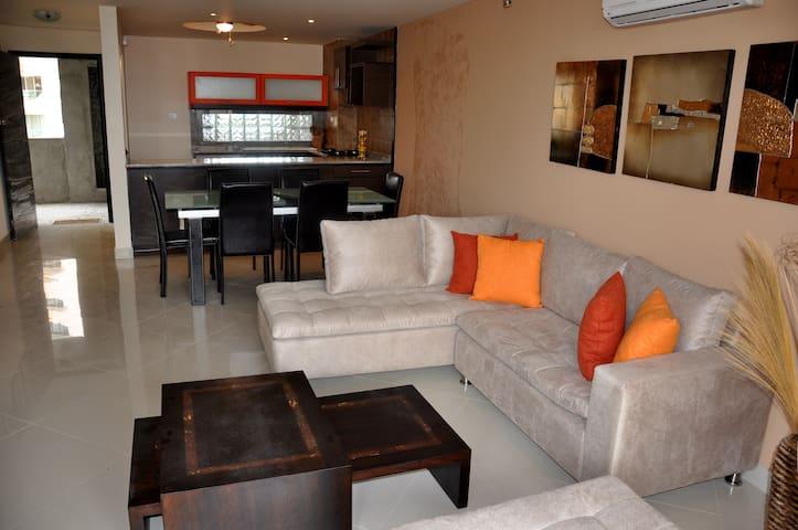 Playa Almendro - Dep. 2 dormitorios - Atacames Canton - Apartamento