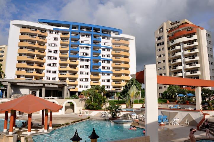 Playa Almendro - Dep. 2 dormitorios - Atacames Canton - อพาร์ทเมนท์