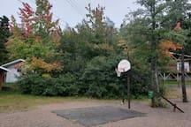 Basketball Net at Pinetree