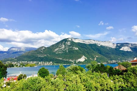 Flat in front the lac with nice wiew - Annecy - Lejlighed