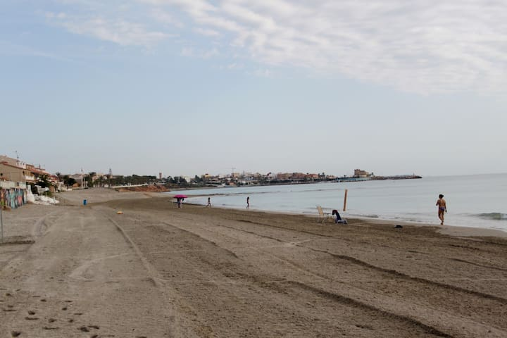 Casa pie de playa en Torre Horadada - Torre de la Horadada - Rumah