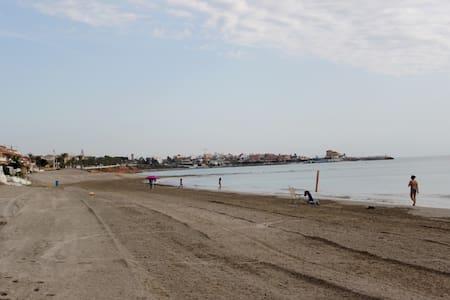 Casa pie de playa en Torre Horadada - Torre de la Horadada - Casa
