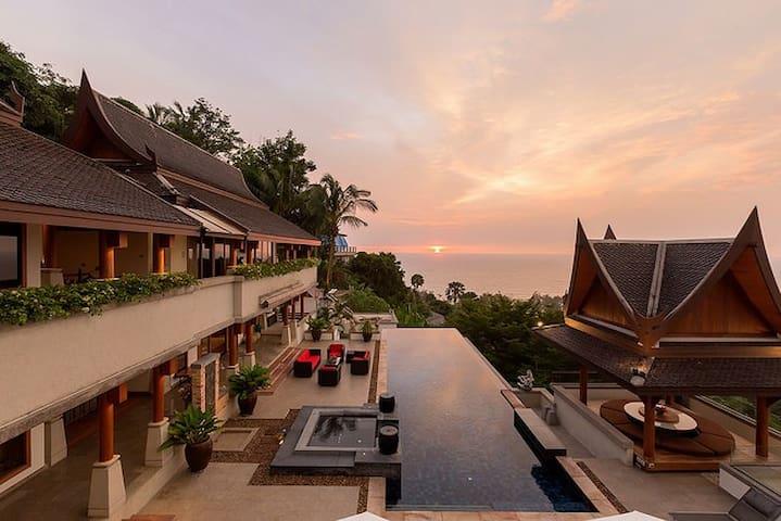 Stunning Surin Beach 6 Bed Villa - Thalang - Villa