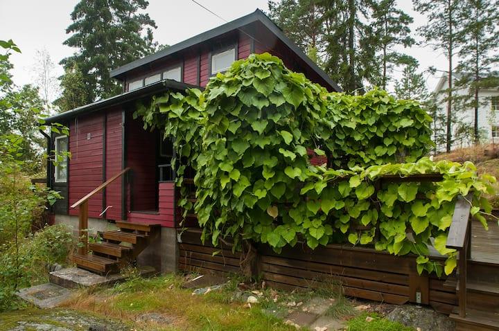 A nice cottage at Värmdö w kitchen