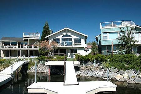 Waterfront Home for 8 with Dock - South Lake Tahoe