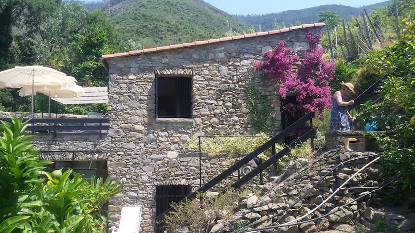 il mulino incantato con vista mare - Corniglia - Villa