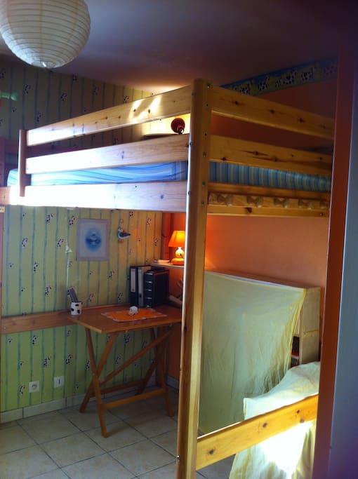 Chambre coquette mezzanine appartamenti in affitto a for Sono pour chambre