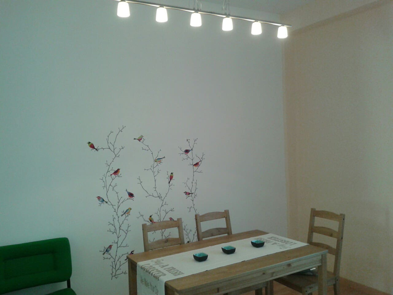 Shared dining room
