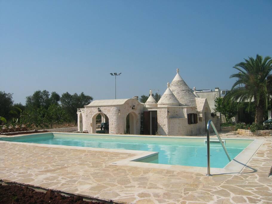 Resort Caelium Trullo With Private Pool  Wi-fi