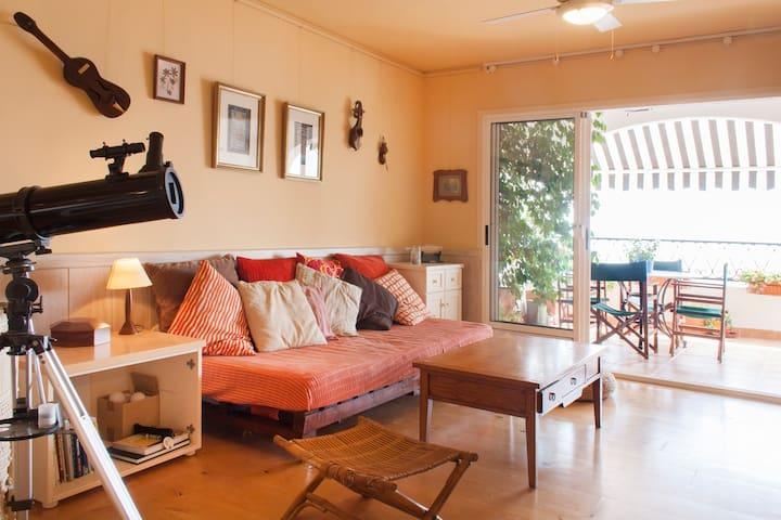 Acogedor apartamento frente al mar - Santa Pola - Leilighet