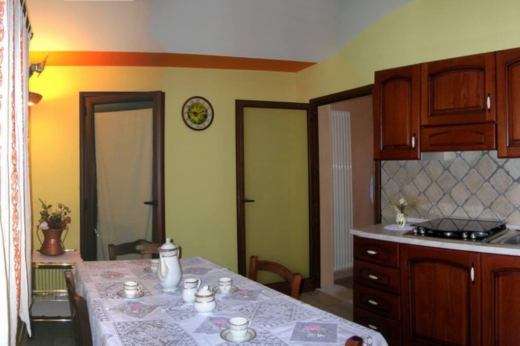 Apartment GLI ULIVI - kitchen -