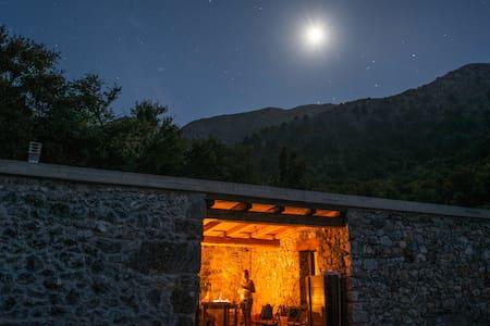 Omalos shepherd's  house. - Σελινιωτικος Γύρος - Talo