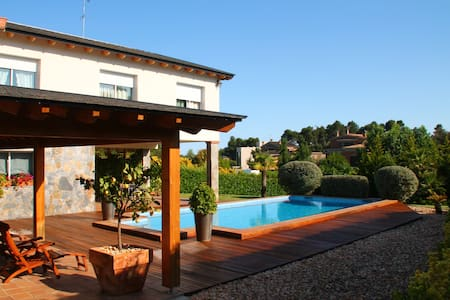 Luxury villa, swimming pool,garden - Castellarnau - Villa