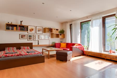 Bright room in Prague house - Praga