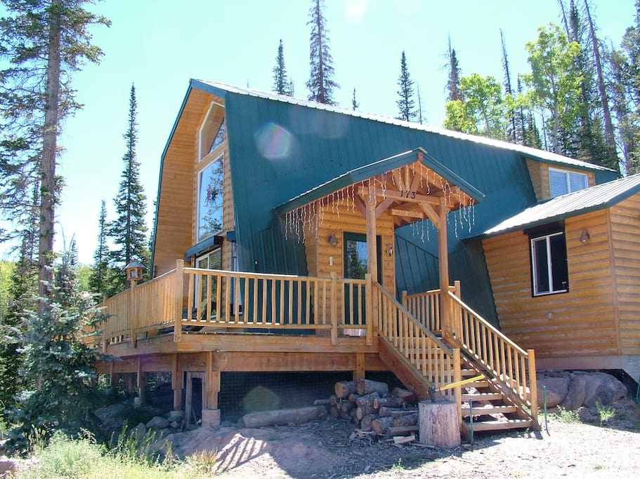 Wolf point cabin mountain home cabins for rent in brian for Cabin rentals vicino a brian head utah