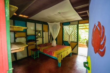 Private room shared bath+kitchen - Puerto Viejo de Talamanca - Ev