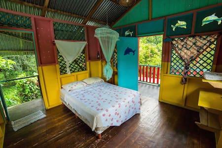 Private room shared bath+kitchen - Puerto Viejo de Talamanca