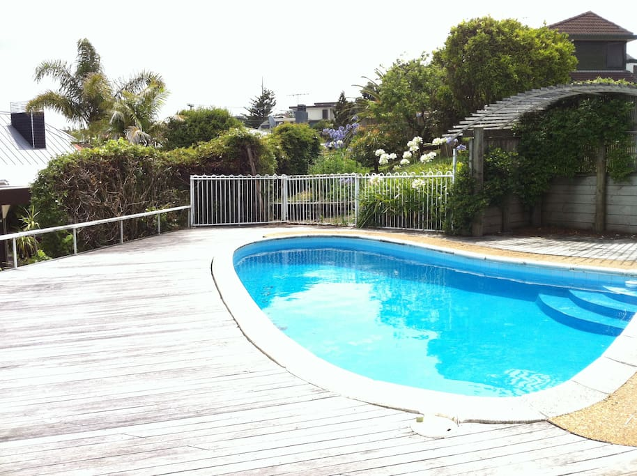 Exclusive use of pool