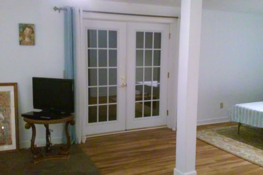 Entrance French Doors