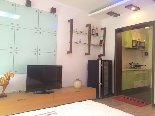 国际海水浴场边的舒适小屋 - Weihai - Apartmen