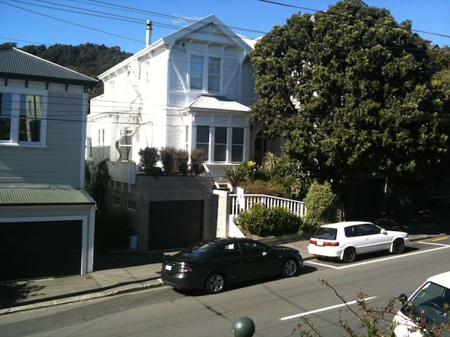 Cosy Travellers' Wing in lovely Mt Victoria Villa - Wellington - Bed & Breakfast