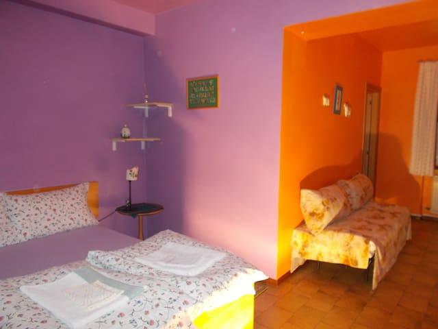 camera in b&b con 3 posti letto - Forno di Zoldo - Bed & Breakfast