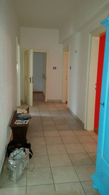 Corridoio ingresso appartamento