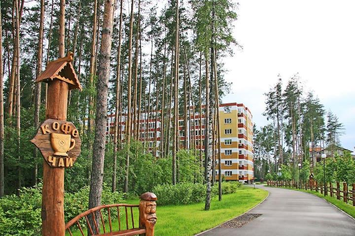 Городской комфорт в сосновом лесу - Ногинский район - อพาร์ทเมนท์