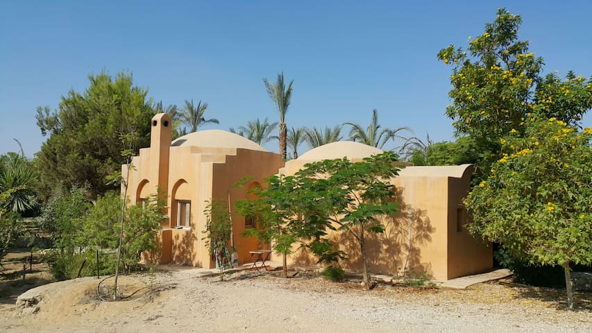 Cute Nubian house 25 mn from Center - Gameyet Ahmed Orabi ( Obour) - Huis