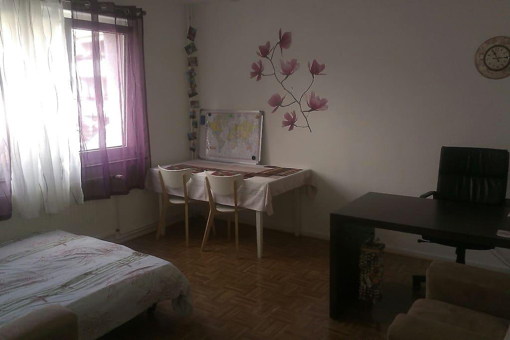 Wohnzimmer = Gästezimmer