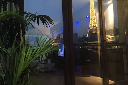 EIFFEL TOWER APT, BREATHTAKING VIEW - Parijs - Appartement