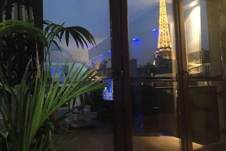 EIFFEL TOWER APT, BREATHTAKING VIEW - París
