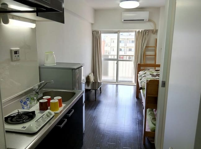 Just re-newed room,5 min to JR sta. - Sumida-ku