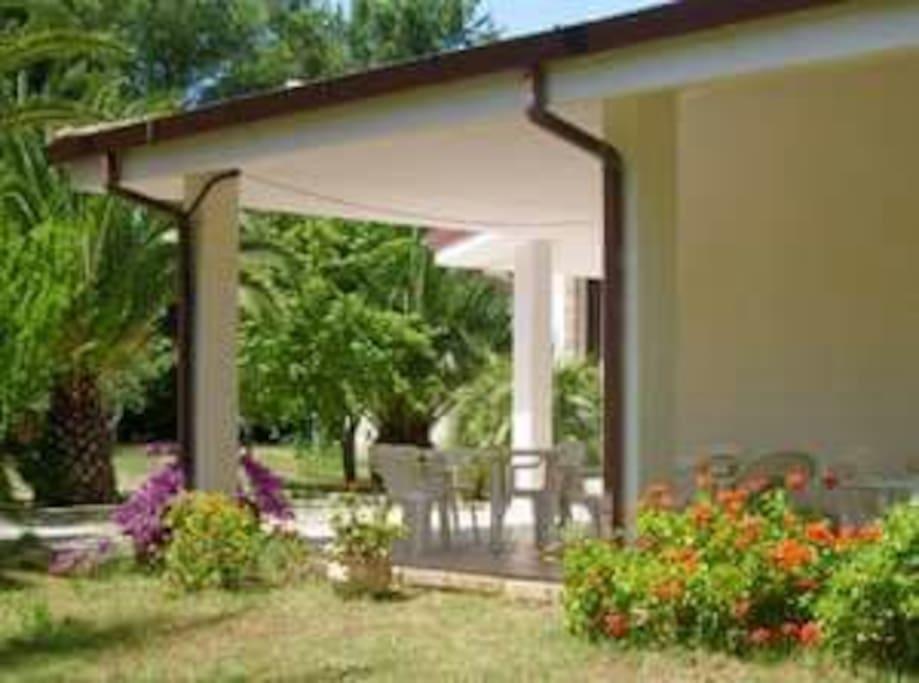 Il giardino di Villa Marciante