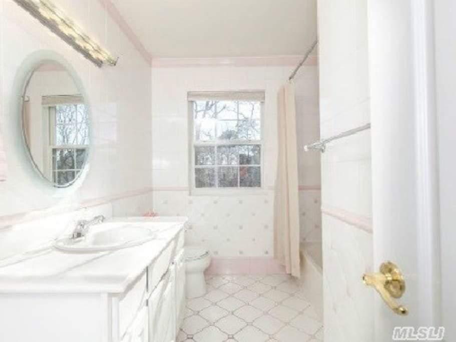 Bathroom for guest suite