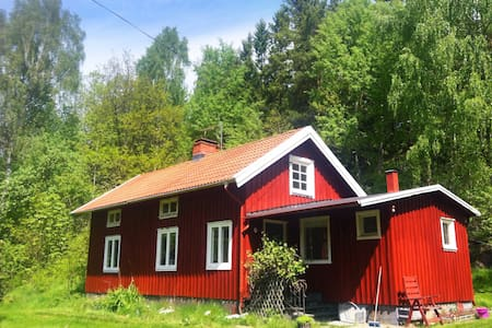 Traditional Swedish Cottage Fjäras - Fjärås - Hus