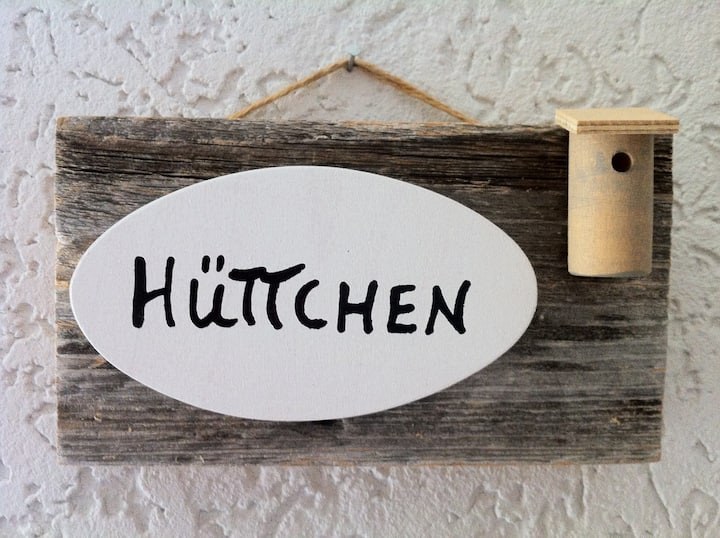 """Unsere """"Hütte"""": Citynah im Grünen"""