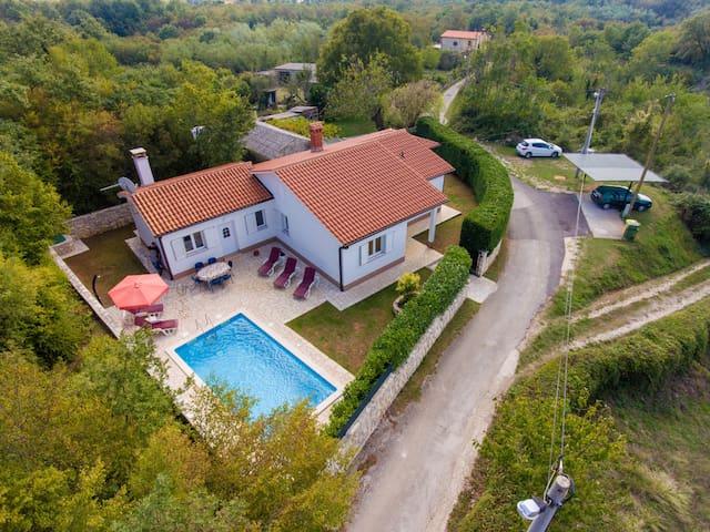 Haus Mia -house for 6-Rabac, Istria