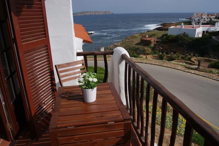 Apartamento primera linea mar Playas Fornells - Platges de Fornells