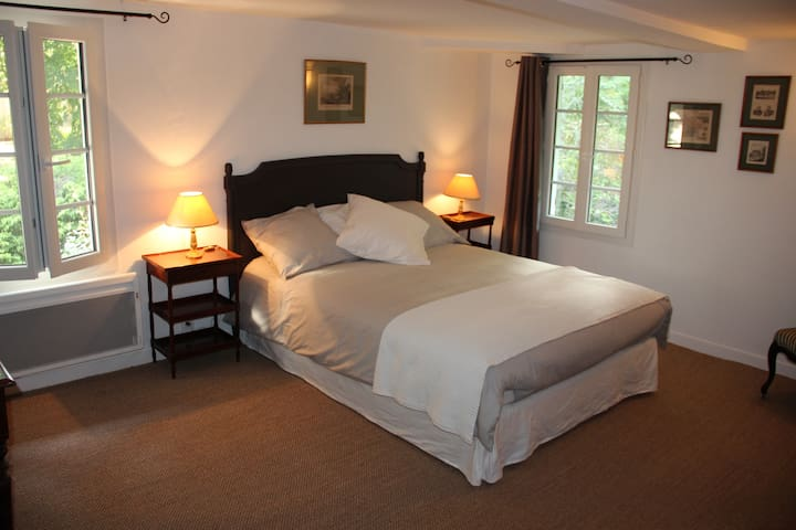 Blanche d'Ô - Chambre 1800 - Onesse-Laharie - Bed & Breakfast
