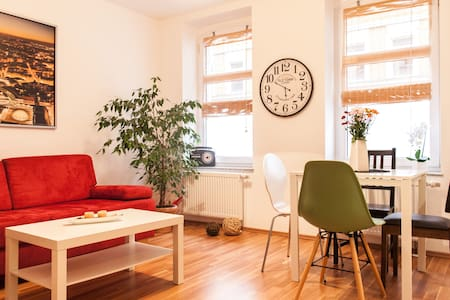 Cozy apartment near city center - Leipzig - Departamento