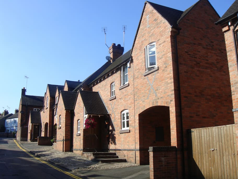 Heritage Cottage within Sandbach town conservation area.