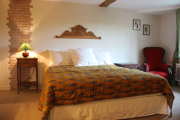 Blanche d'Ô - Chambre Campagne - Onesse-Laharie - Bed & Breakfast