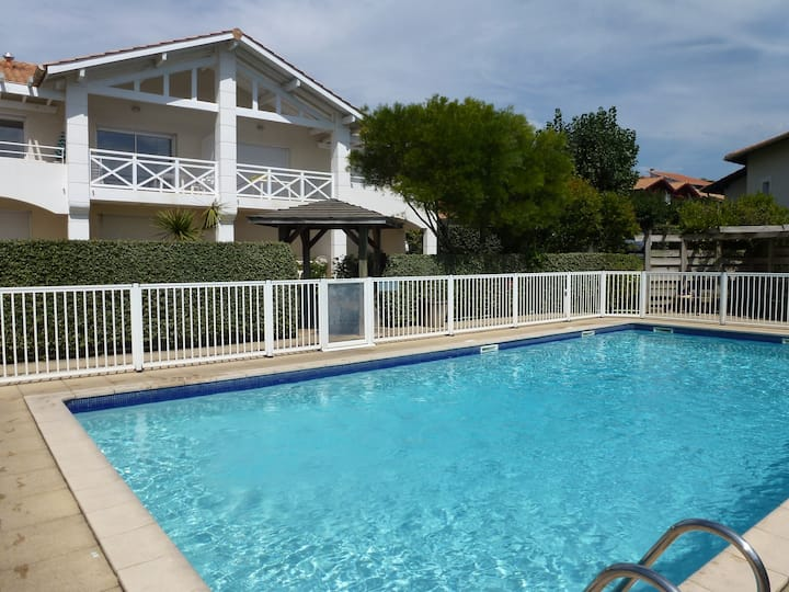 T2 Biarritz, piscine, golf, plage